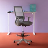 Ergonomischer und verstellbarer Bürostuhl Gaury, Miniaturansicht 2