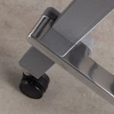 Klappschreibtisch mit Rädern PVC und Stahlgestell Bastid, Miniaturansicht 9