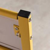 Klappbarer Schreibtisch aus Holz und Metall Worki, Miniaturansicht 7