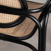 Sessel mit Armlehnen aus Natur-Rattan Emba, Miniaturansicht 5