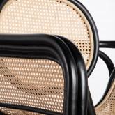 Sessel mit Armlehnen aus Natur-Rattan Emba, Miniaturansicht 7