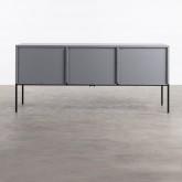 TV-Schrank aus laminiertem Stahl und Glas Otse, Miniaturansicht 6