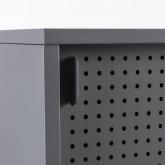 TV-Schrank aus laminiertem Stahl und Glas Otse, Miniaturansicht 7