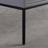 TV-Schrank aus laminiertem Stahl und Glas Otse, Miniaturansicht 9