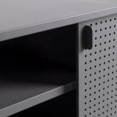 TV-Schrank aus laminiertem Stahl und Glas Otse, Miniaturansicht 10