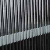 Niedriges Sideboard aus laminiertem Stahl und Glas Otse, Miniaturansicht 6