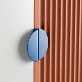 Garderobenschrank 2 Türen aus Holz und Metall Kuno  , Miniaturansicht 8