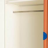 Garderobenschrank 2 Türen aus Holz und Metall Kuno  , Miniaturansicht 10