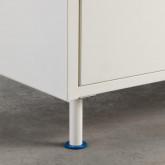 Garderobenschrank 2 Türen aus Holz und Metall Kuno  , Miniaturansicht 12