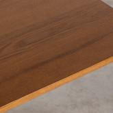 Quadratischer Esstisch asu MDF und Metall (70x70 cm) Bar Square, Miniaturansicht 3