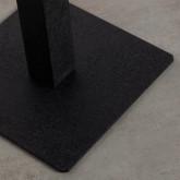 Quadratischer Esstisch asu MDF und Metall (70x70 cm) Bar Square, Miniaturansicht 5
