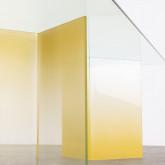 Rechteckiger Esstisch aus gehärtetem Glas (210x100 cm) Audra, Miniaturansicht 5