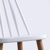 Esszimmerstuhl aus Polypropylen und Metall Emi, Miniaturansicht 4