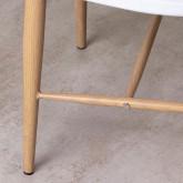 Esszimmerstuhl aus Polypropylen und Metall Emi, Miniaturansicht 5