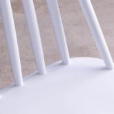 Esszimmerstuhl aus Polypropylen und Metall Emi, Miniaturansicht 6