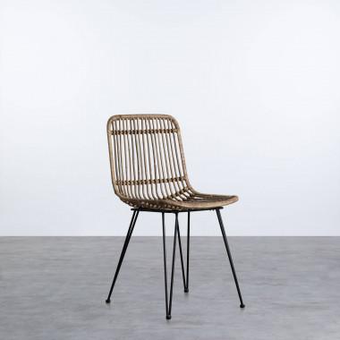 Outdoor Stuhl aus natürlichen Rattan Nice