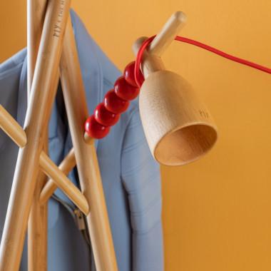 Zubehör aus Holz für Garderobenständer Piy