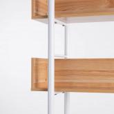 Regal aus MDF und Stahl (180x120 cm) Deseq, Miniaturansicht 4