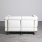 Sofa 2-Sitzer- in Kunstleder Mera, Miniaturansicht 4