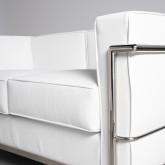 Sofa 2-Sitzer- in Kunstleder Mera, Miniaturansicht 5