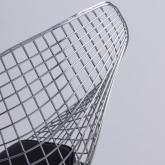 Esszimerstuhl aus Stahl Amber Top, Miniaturansicht 5