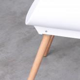 Esszimmerstuhl aus Polypropylen und Holz Tera, Miniaturansicht 9