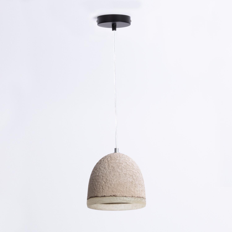 Lampe aus Cemausto Lava, Galeriebild 1