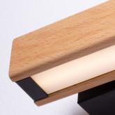 Wandleuchte aus Holz Rectangle, Miniaturansicht 4