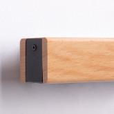 Wandleuchte aus Holz Rectangle, Miniaturansicht 5