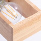 Wandleuchte aus Holz Apliq, Miniaturansicht 5