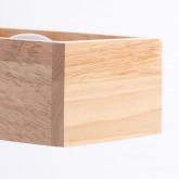 Wandleuchte aus Holz Apliq, Miniaturansicht 6