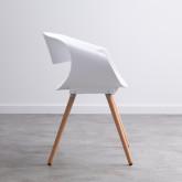 Esszimmerstuhl aus Polypropylen und Holz Tera, Miniaturansicht 2