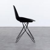 Esszimmerstuhl aus Polypropylen und Stahl Buk, Miniaturansicht 3