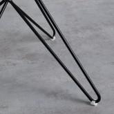 Esszimmerstuhl aus Polypropylen und Stahl Buk, Miniaturansicht 7
