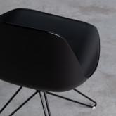 Esszimmerstuhl aus Polypropylen und Stahl Buk, Miniaturansicht 9