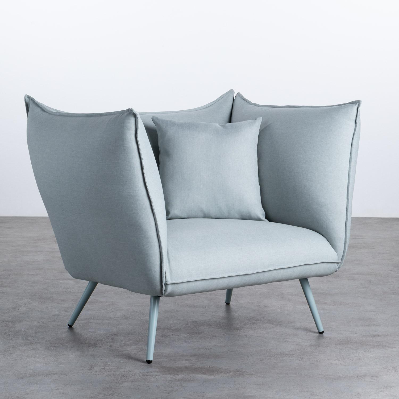 Sessel mit Armlehnen aus Stoff Fika, Galeriebild 1