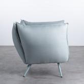 Sessel mit Armlehnen aus Stoff Fika, Miniaturansicht 3