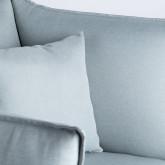 Sessel mit Armlehnen aus Stoff Fika, Miniaturansicht 7