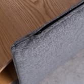 Nest Bett aus Holz und Stoff für Hunde und Katzen Prico , Miniaturansicht 8