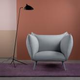 Sessel mit Armlehnen aus Stoff Fika, Miniaturansicht 2