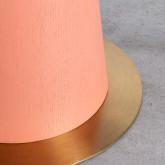 Beistelltisch Rund aus MDF und Stahl (50-60 cm) Era, Miniaturansicht 4