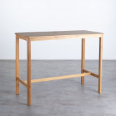 Hoher Tisch aus Holz  (140x65,5 cm) Roxet, Miniaturansicht 1
