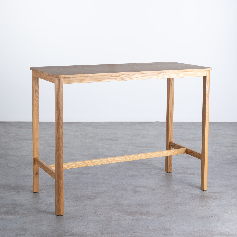 Hoher Tisch aus Holz  (140x65,5 cm) Roxet, Galeriebild 1