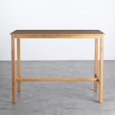 Hoher Tisch aus Holz  (140x65,5 cm) Roxet, Miniaturansicht 3