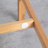 Hoher Tisch aus Holz  (140x65,5 cm) Roxet, Miniaturansicht 4