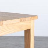 Hoher Tisch aus Holz  (140x65,5 cm) Roxet, Miniaturansicht 5