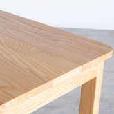 Hoher Tisch aus Holz  (140x65,5 cm) Roxet, Miniaturansicht 6
