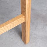 Hoher Tisch aus Holz  (140x65,5 cm) Roxet, Miniaturansicht 7