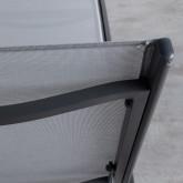 Verstellbare Liege aus Aluminium und Stoff Miko, Miniaturansicht 7