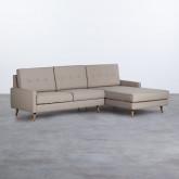 Sofa Chaiselongue rechts 4-Sitzer- aus Kunstleder Abuba, Miniaturansicht 1